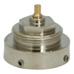 Danfoss-RAV adaptor i messing